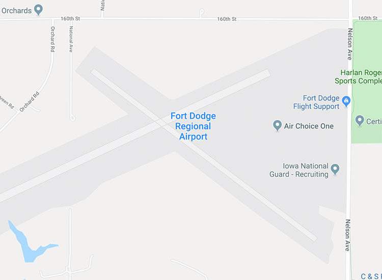 Cheap flights to and from Fort Dodge, Iowa